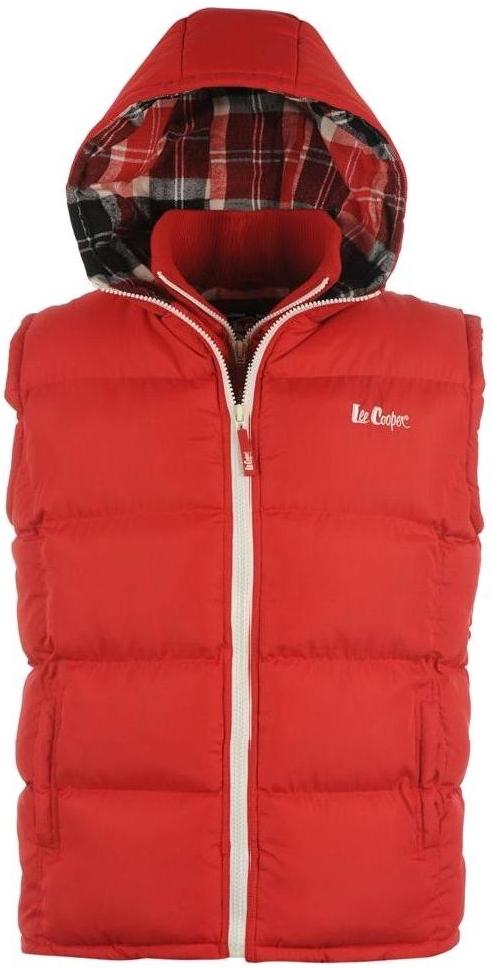 pánská vesta LEE COOPER - RED 8cd73dfa16