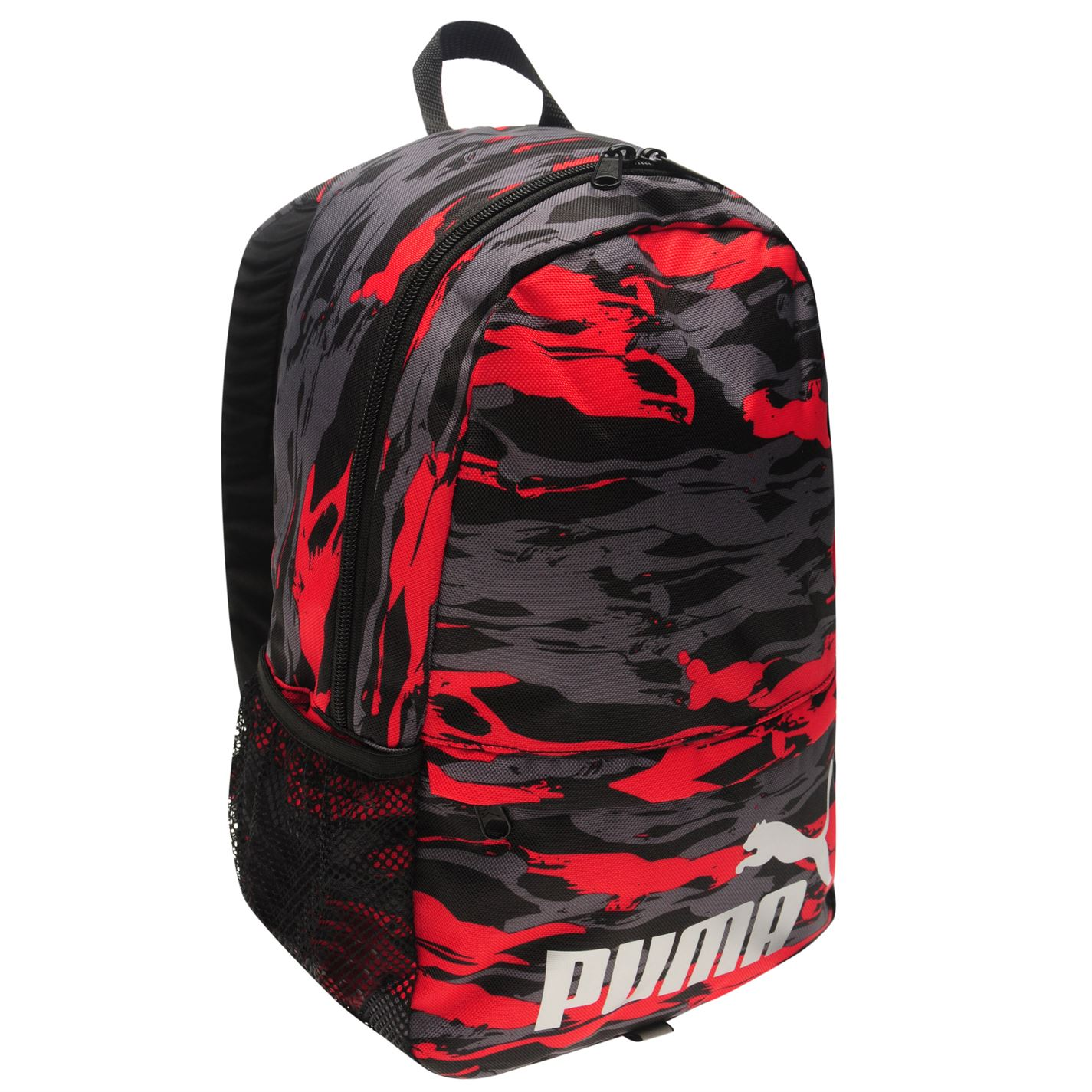 batoh PUMA Mini - BLACK/RED