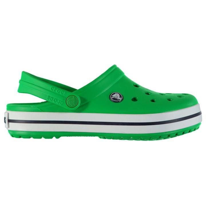5a6efb81d2c boty CROCS Crocband - GREEN WHITE