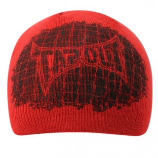čepice TAPOUT - RED/BLACK