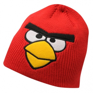 čepice ANGRY BIRDS - RED - 3-5 let