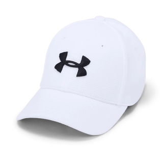 kšiltovka UNDER ARMOUR JUNIOR  - WHITE/BLACK - XS/SB