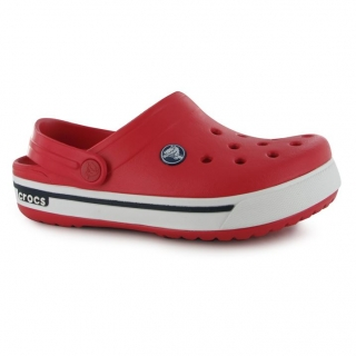 boty CROCS Crocband - RED/NAVY