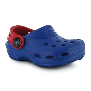 boty CROCS Jibitz - BLUE/RED