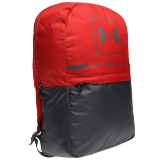 batoh UNDER ARMOUR - RED/GREY