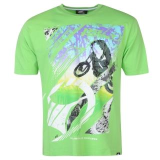 f4aad15b9e72 pánské tričko NO FEAR - GREEN STUNT - L ...