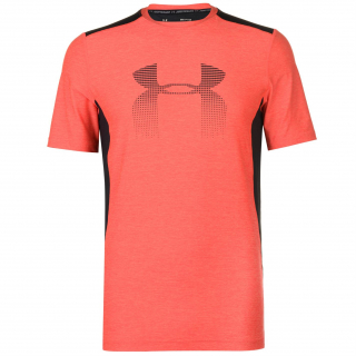 pánské tričko UNDER ARMOUR GRAPHIC - RED/BLACK